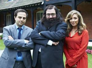 With Dovid and Tracy-Ann on the set of the final episode of the show.