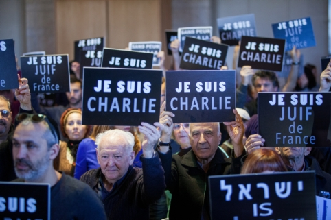 Before the term 'Je Suis Juif' ('I am a Jew') was coined in defiance of the supermarket attack, 'Juif, la France n'est pas a toi' ('Jew, France is not yours') was the chant of choice. Before Parisians held pens aloft to honour free speech, fans of French anti-Semitic comedian Dieudonné were making the Nazi quenelle salute.